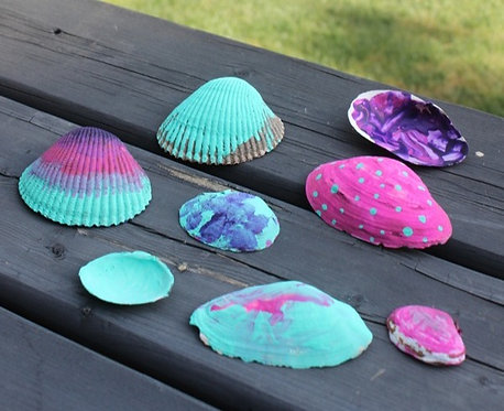 Clam Shell - Painting Project