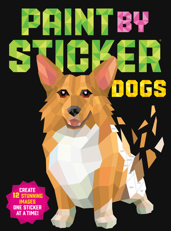 Paint by Sticker (Dogs)