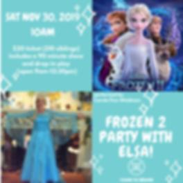 Elsa Frozen 2 party