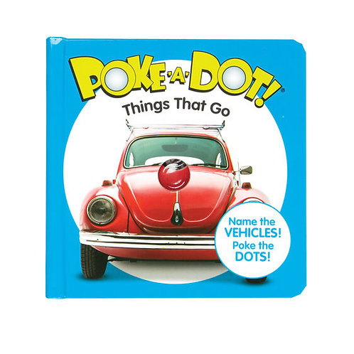 Melissa & Doug: Poke-A-Dot: Things That Go