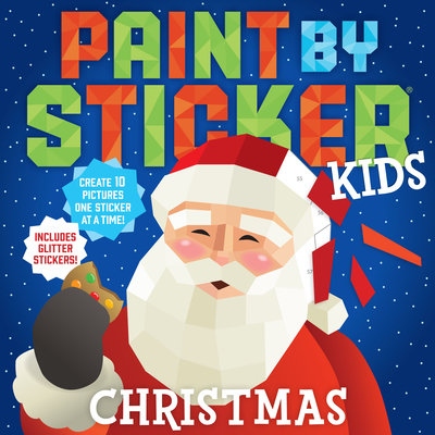 Paint by Sticker Kids (Christmas)