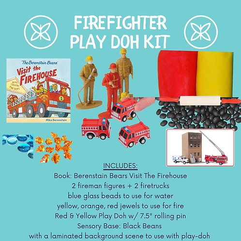 Firefighter Play-Doh