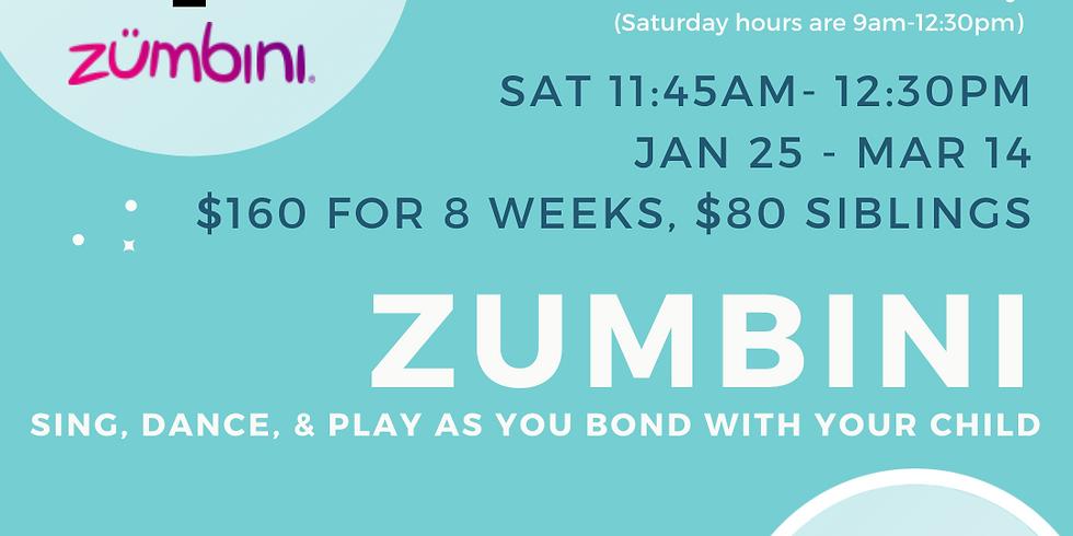 Zumbini class - 8 Week Session