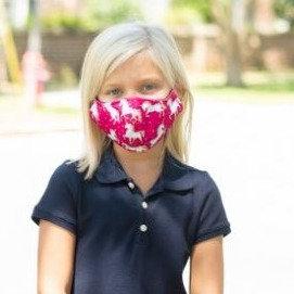 Youth Adjustable Mask (Unicorn Wishes)