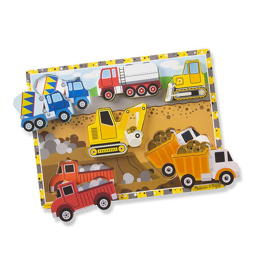 Melissa & Doug: Chunky Puzzle (Construction)