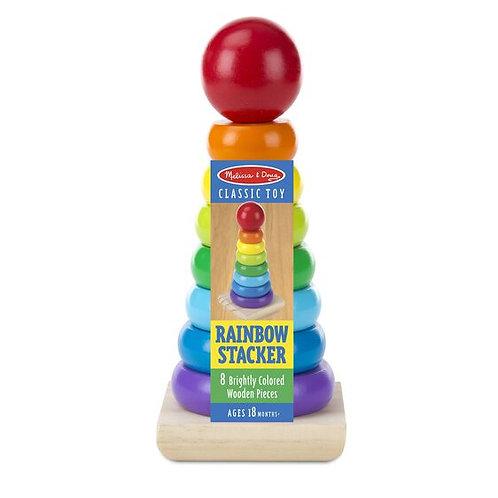 Melissa & Doug: Rainbow Stacker Classic Toy