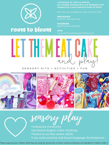 Sensory Bins created by Let Them Eat Cake & Play