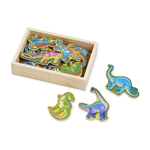 Melissa & Doug: Wooden Dinosaur Magnets