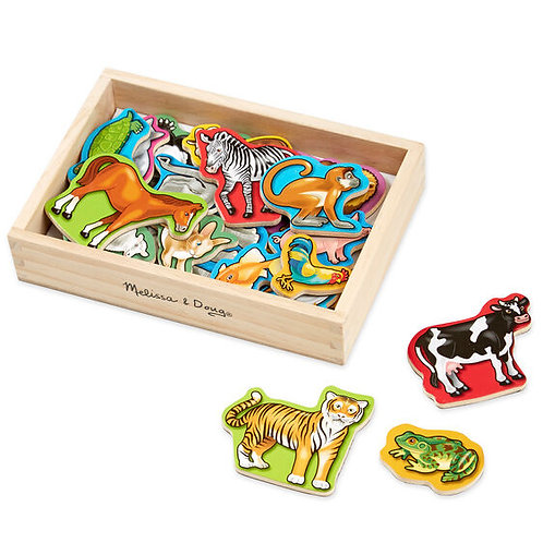 Melissa & Doug: Wooden Magnets (Animal)