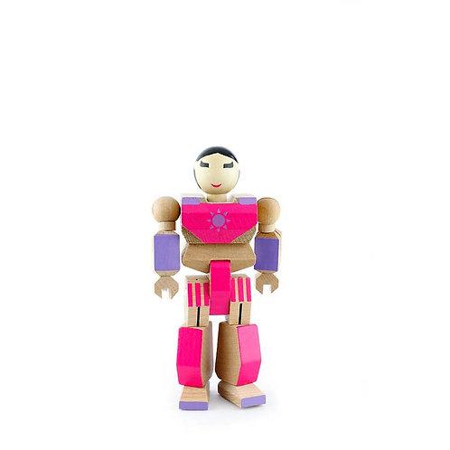 Playhard Heroes Robot (Tulip pink)