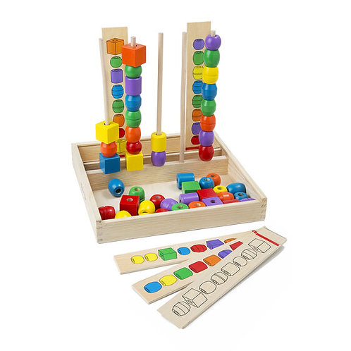 Melissa & Doug: Bead Sequencing Set Classic Toy
