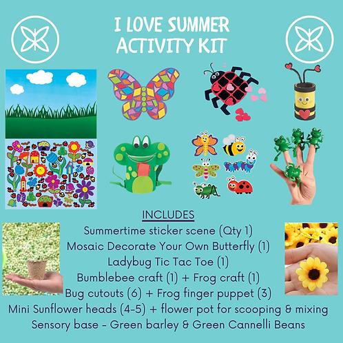 I Love Summer Activity Kit