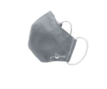 Green Sprouts: Youth/Adult Small Mask (Grey)