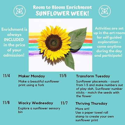 Sunflower Week