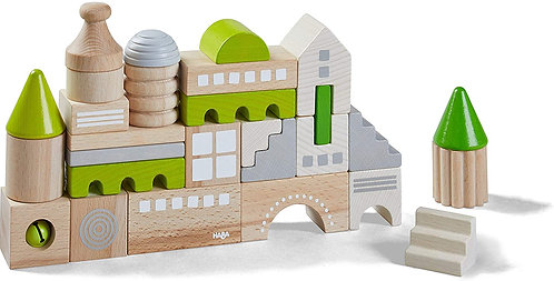 HABA Toys: Coburg 28pc Building Blocks (Made in Germany)