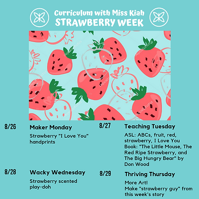 Strawberry Week