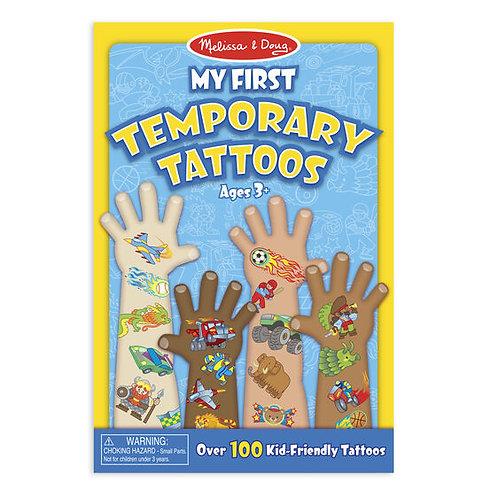 Melissa & Doug: My First Temporary Tattoos: 100+ Adventure, Creatures, Sports