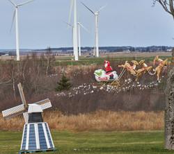 GrahamJ 2 Santa and the windmills