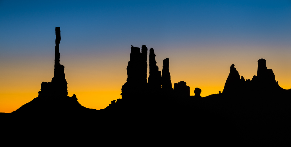 Blue Hour Monument Valley - Paul P