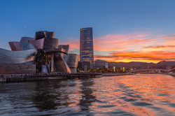 JeffF-Guggenheim-Museum-Sunset