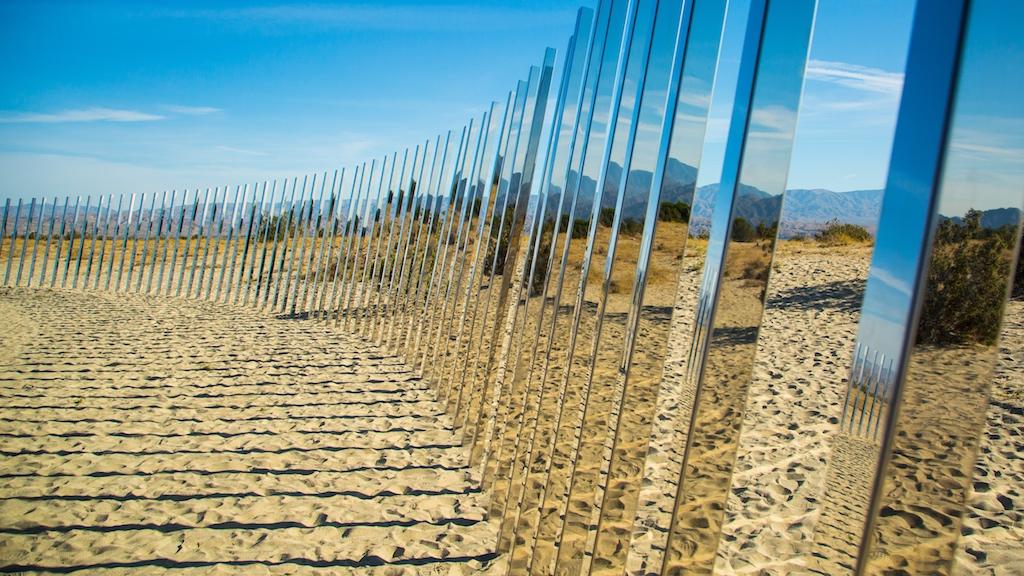 J Ramerman, Desert Sand and Sky