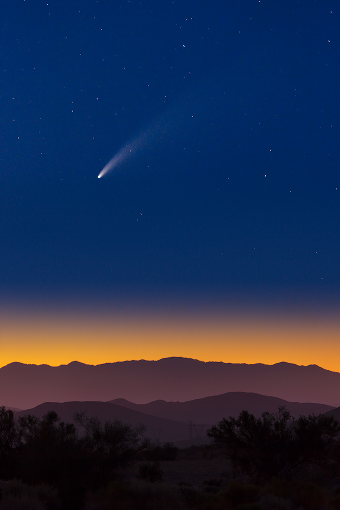 JeffF-Comet-NEOWISE-over-the-Indio-Hills