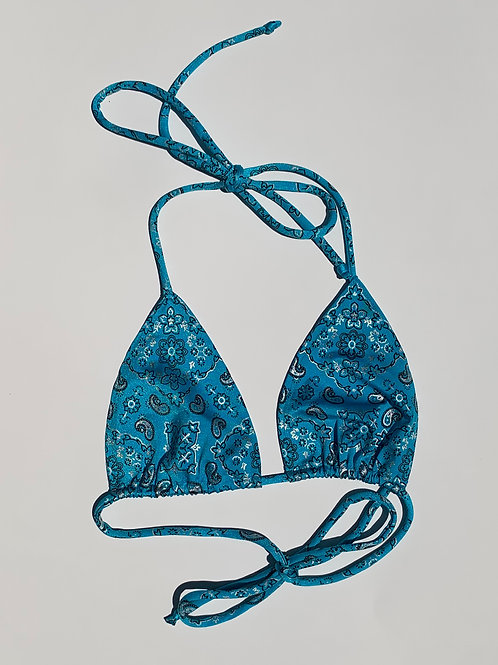 HUSSLE BLUE Top