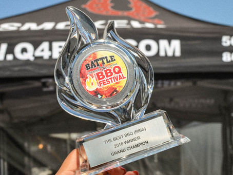 Grand Champions at Long Beach BBQ Festival