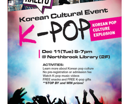 Korean Cultural Event at Local Library