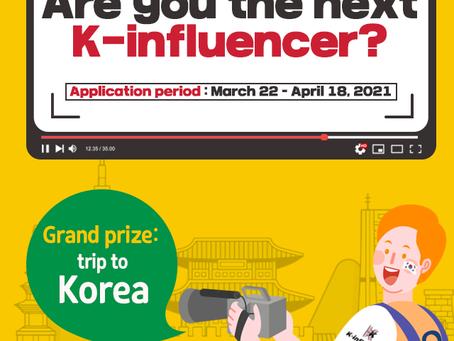 Recruitment of 'K-Influencer'