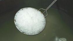 出来上がりの塩