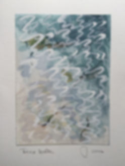 Tresco water (2) Gouache 148 x 105mm