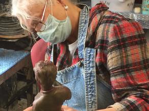 Meet the sculptors: Laury Dizengremel