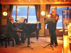 Willem op een cruiseschip ALBATROS
