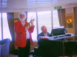 Willem op een cruiseschip ABATROS