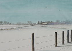 Willem Wolthuis ~ Groninger winter