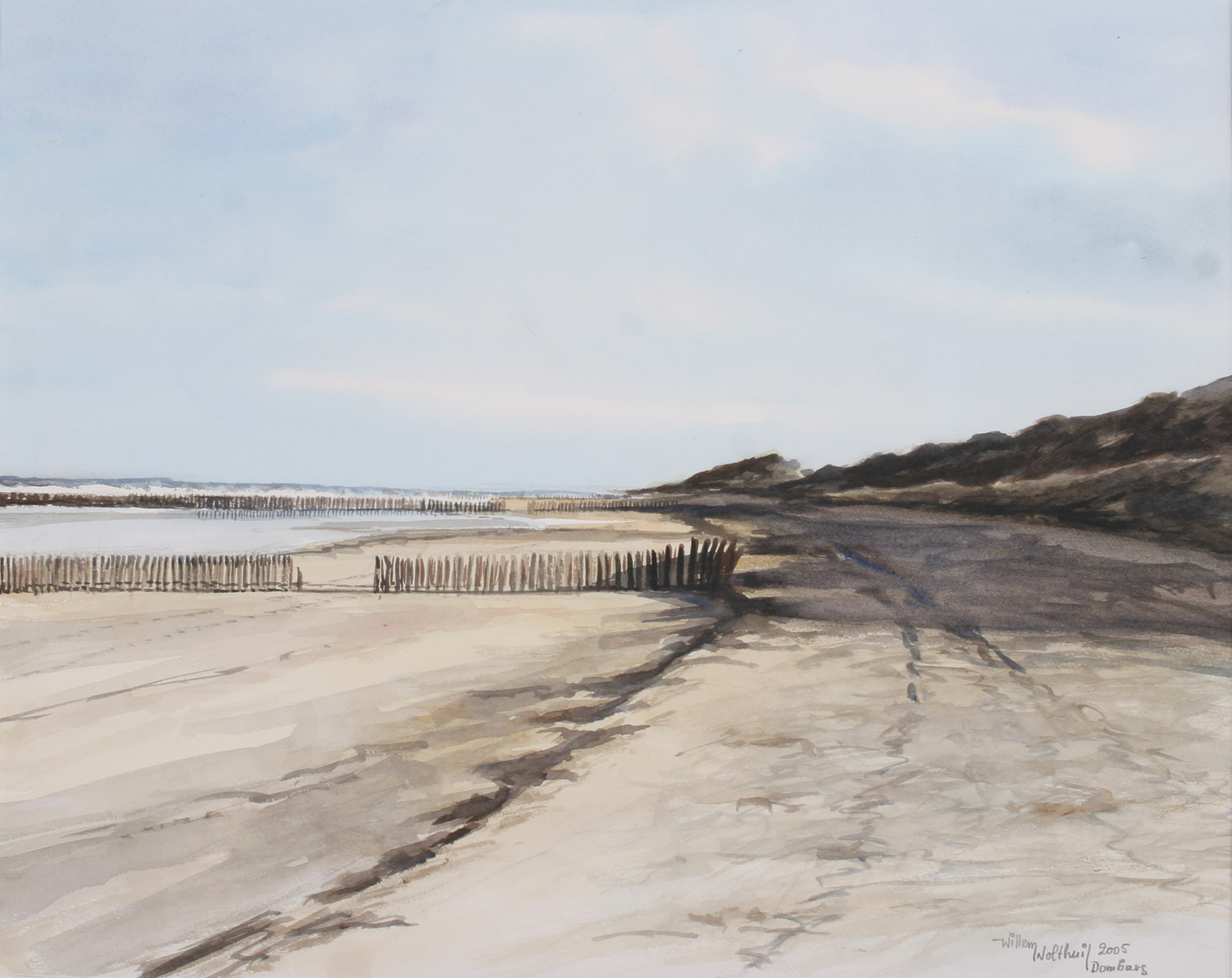 Willem Wolthuis ~ Strand