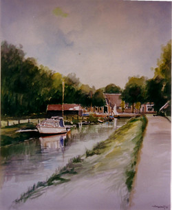 Willem Wolthuis ~ Paterswoldse meer