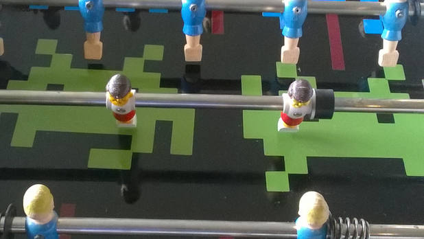 Come Play Foosball