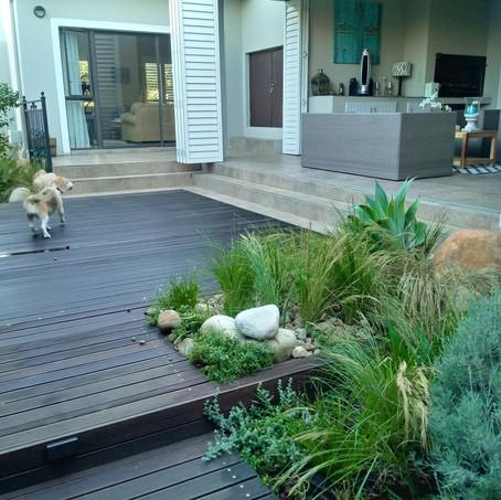 Solving a Narrow Garden