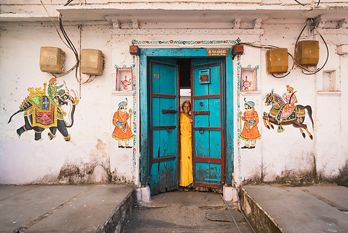 Blue and Yellow, Udaipur