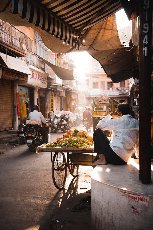 Fruit Cart, Jodhpur