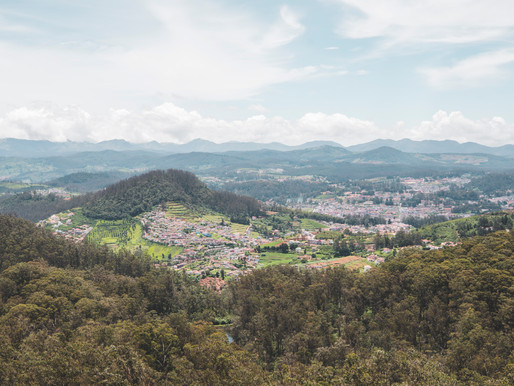 The Cooler Climates of Coonoor and Ooty