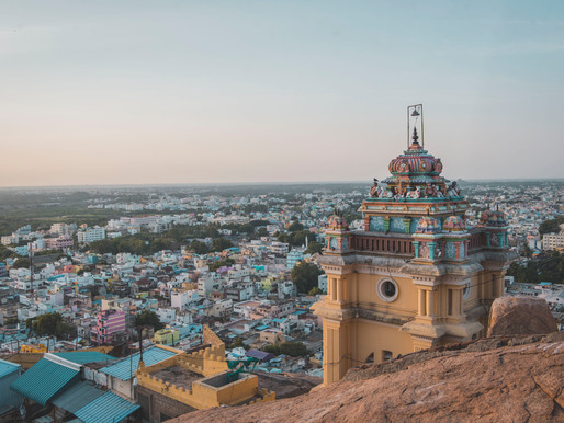 The Temples of Trichy and Madurai