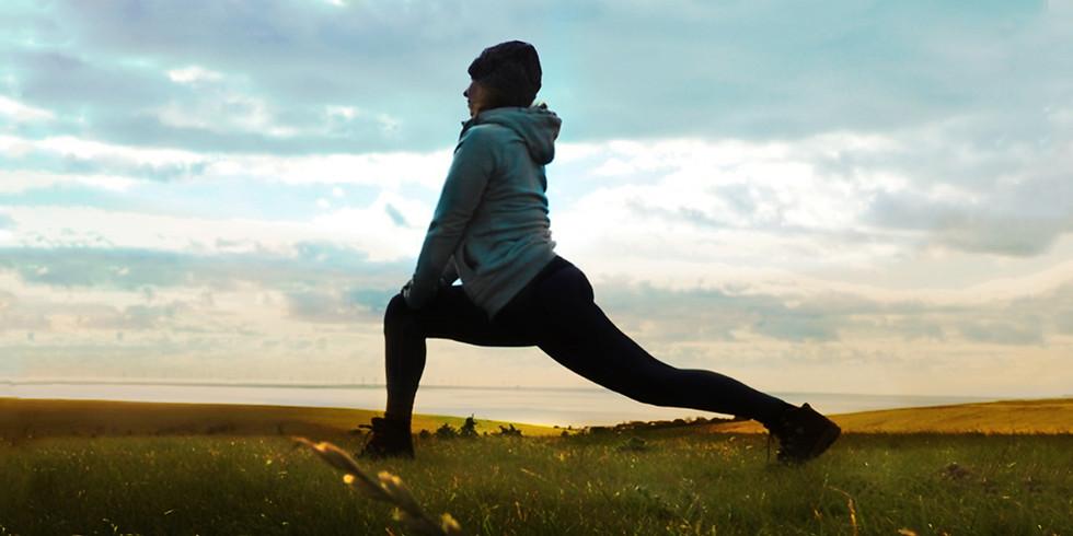 Hiking and Yoga - June