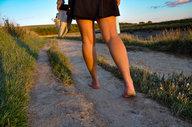 Yoga and Hiking walk along the river Adur