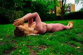 Outdoor yoga in Brighton St. Anns Well Gardens