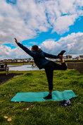 Outdoor Yoga at Hove Lagoon