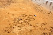 brighton Yoga beach sand