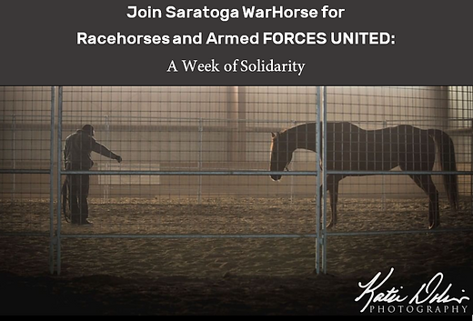 Racehorses and Armed Forces United Cover